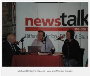 Michael Higgins in NewsTalk audio interview