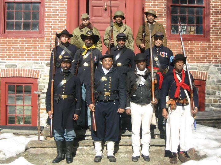 3 Centuries Black Soldiers Trenton Barracks 2014