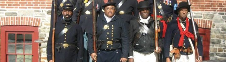 Buffalo Soldier Luís Lopez Wei at 3 Centuries of Black Soldiers