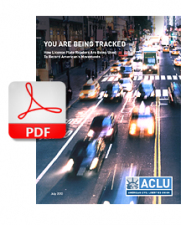 ALCU report on vehicle tracking