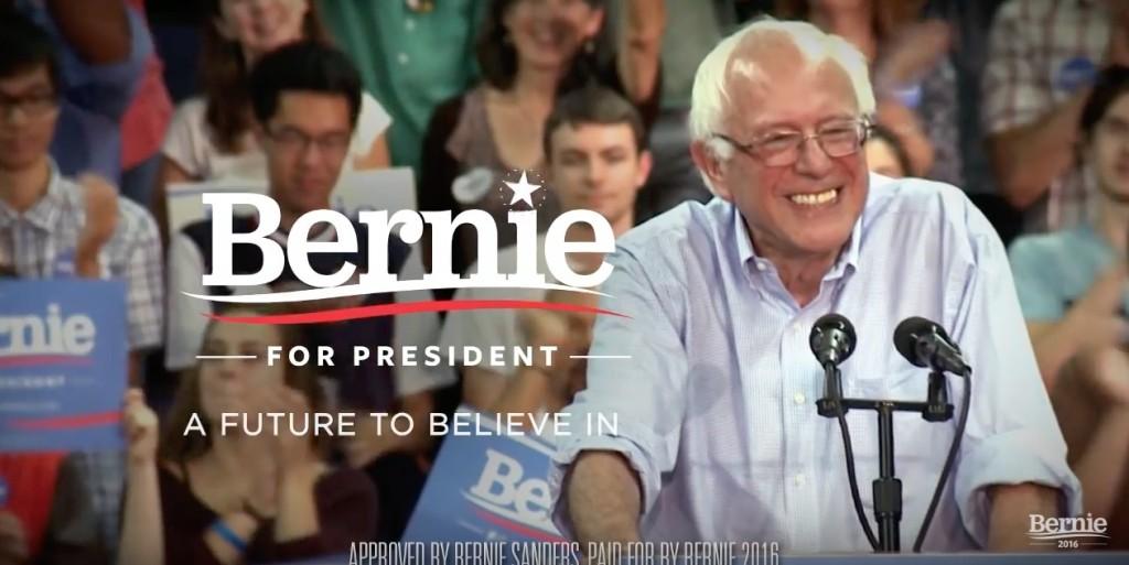 Bernie for president 2016