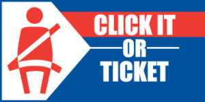 Click it or ticket banner