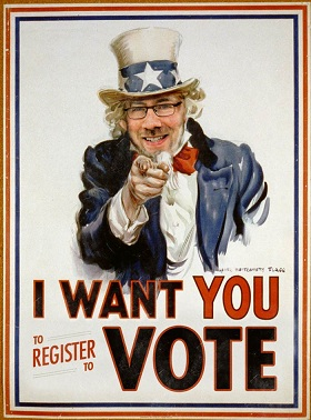 Craig Newmark wants you to vote