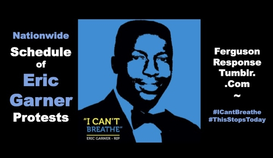 Eric Garner rallies