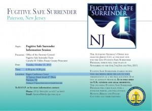Fugitive Safe Flyer Paterson 10-22