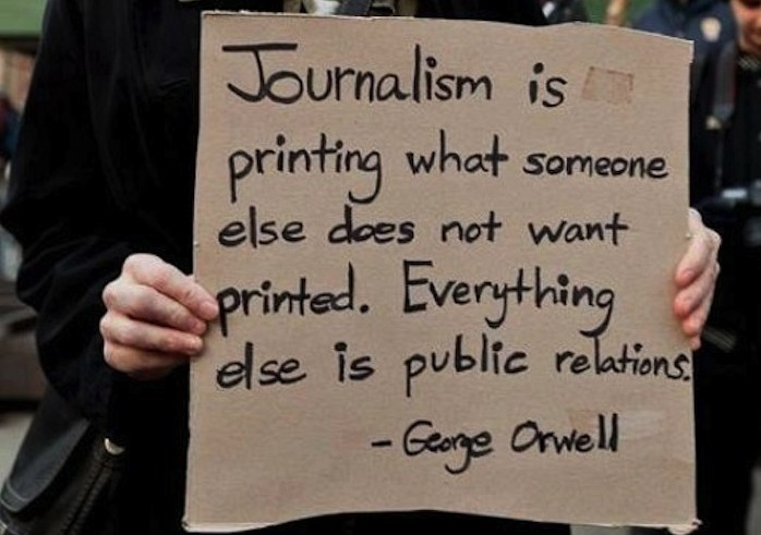 Journalism-is-Orwell