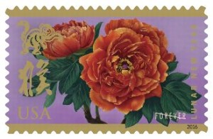 Monkey Chinese New Year Stamp