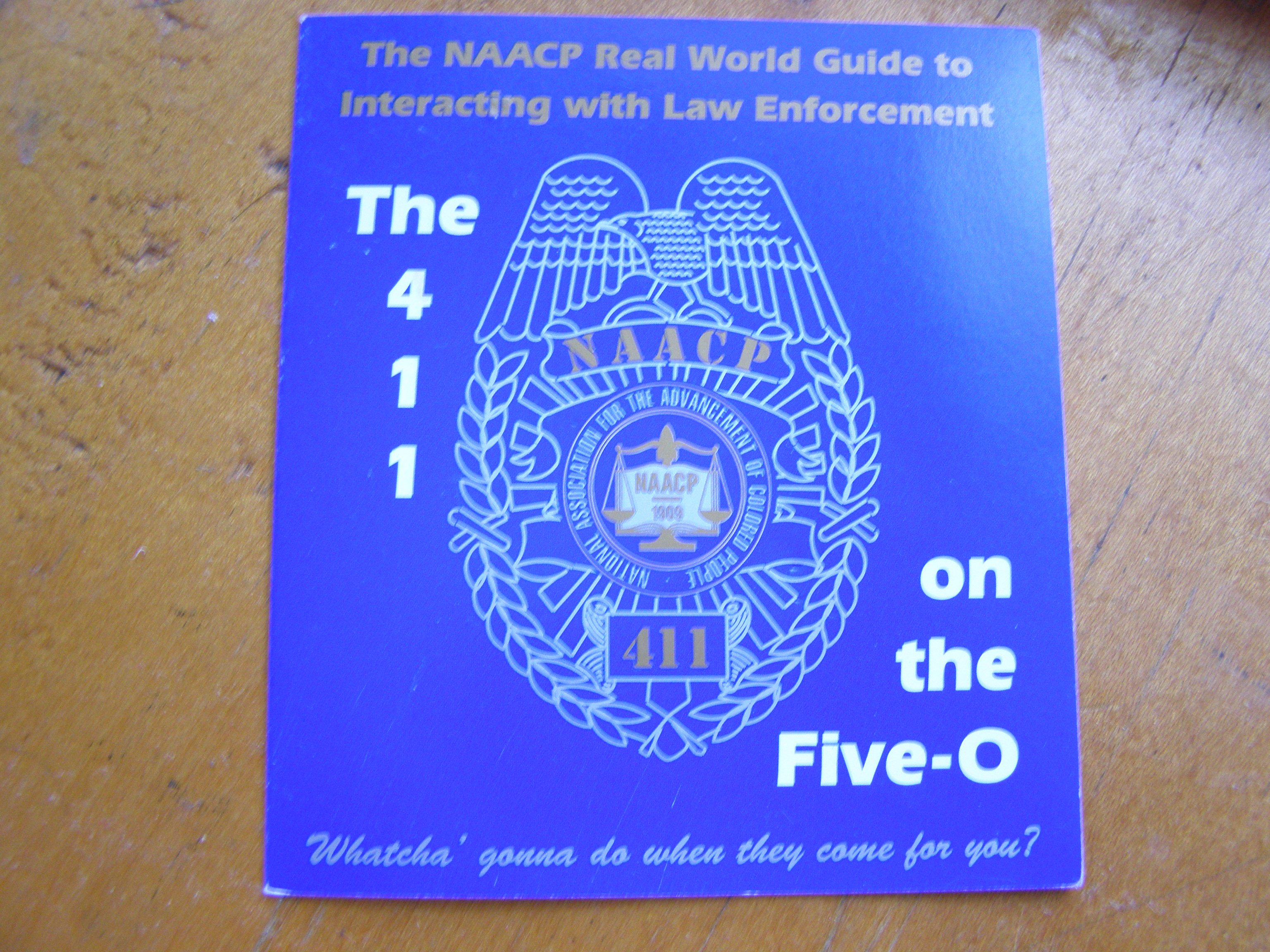 411 on the 5-0 pamphlet