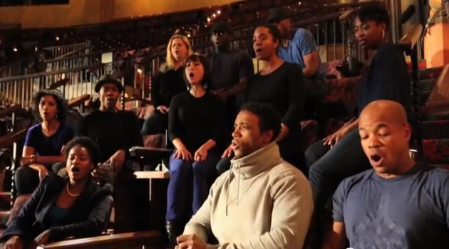 Lion King cast singing