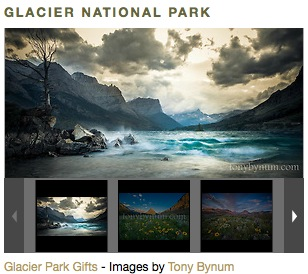 Tony Bynum's foot of Glacier National Park