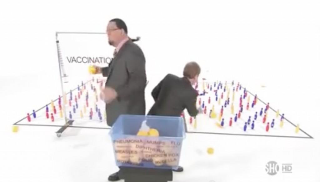 Penn & Teller on vaccines
