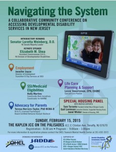 Navigating Dev Disabilities systems conf