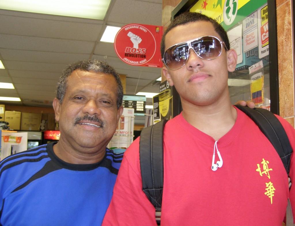 Ari & his Dad