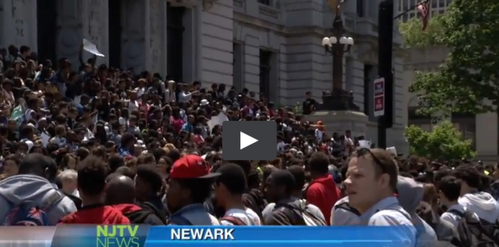 Newark 1505 student walkout