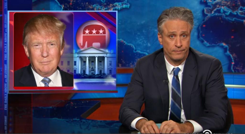 Jon Stewart on Donald Trump