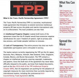 EFF on TPP