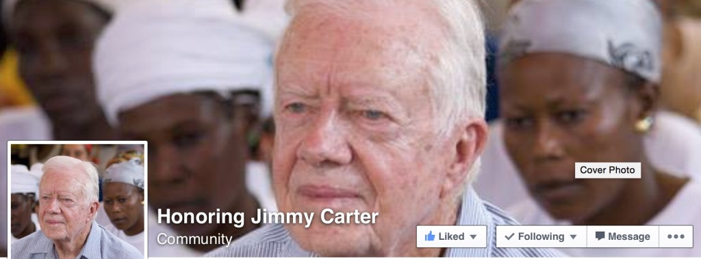 Honoring Jimmy Carter