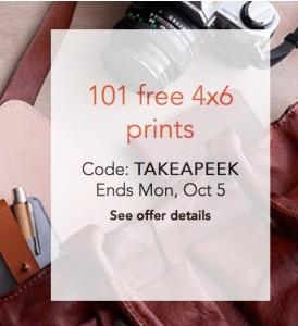 shutterfly free 100 prints