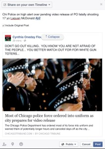 Chi police on high alert pending shooting video release