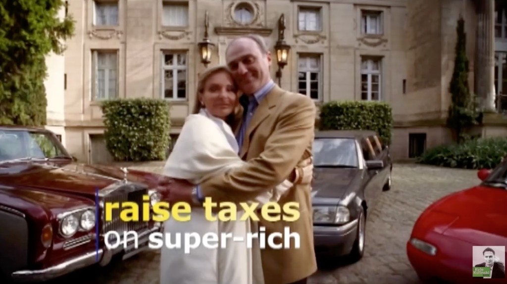 raise taxes on the super-rich