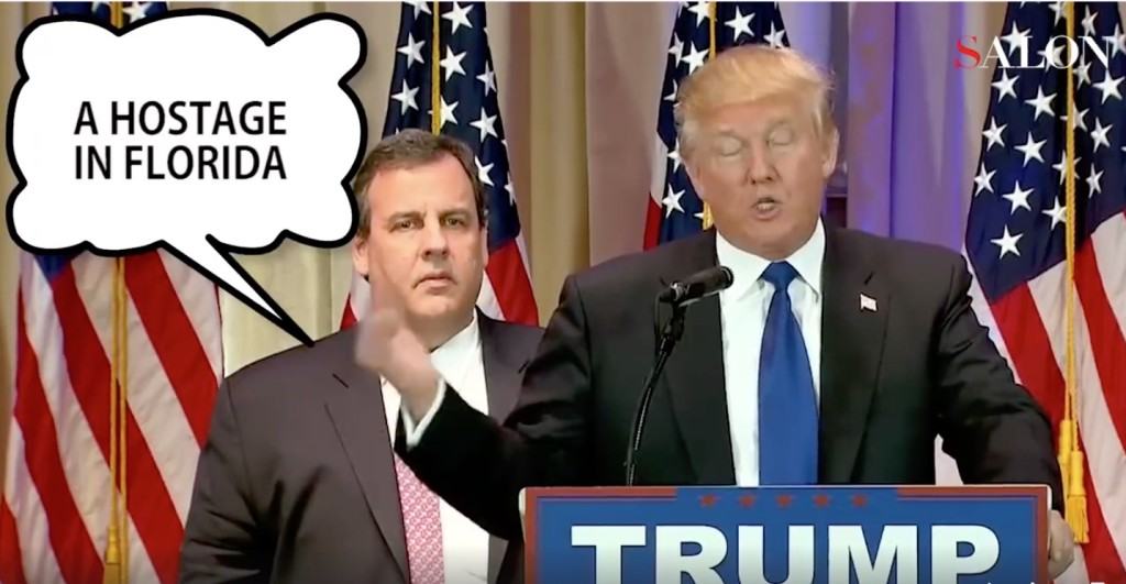 Christie's a hostage in Florida