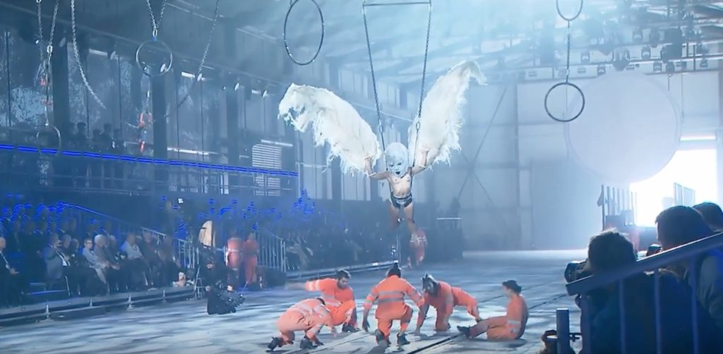 Performers in bizarre Gotthard Tunnel ceremony