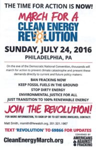 March for Clean Energy Revolution 2016 Eng flyer
