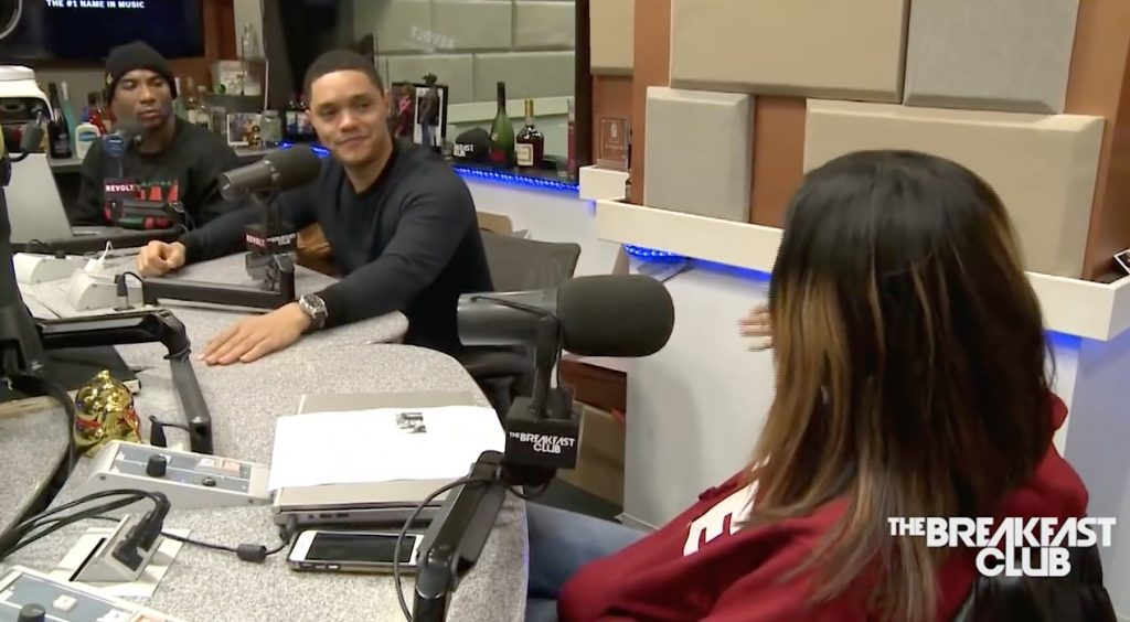 Trevor Noah on The Breakfast Club