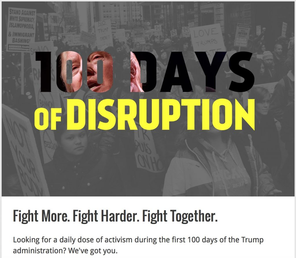 100 Days of Disruption
