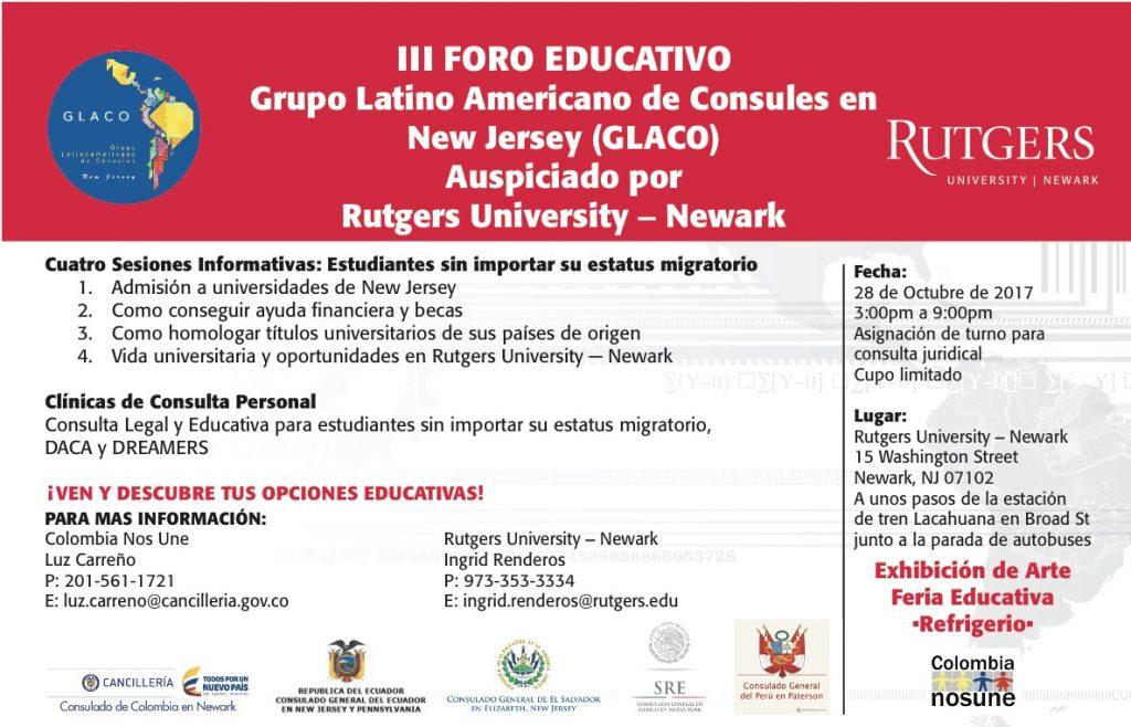 Rutgers college forum en español