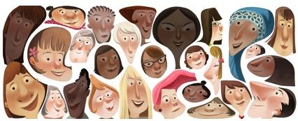 Google's Women's Day graphic