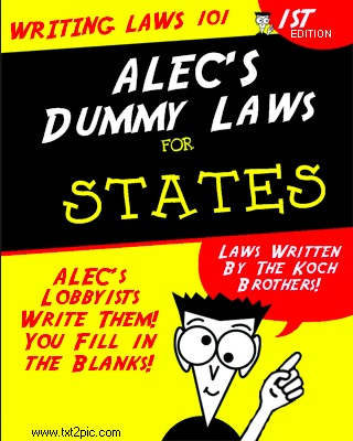 ALEC for Dummies