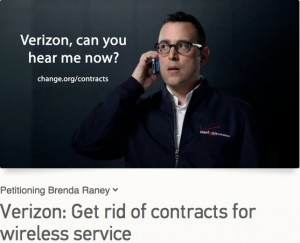 Verizon - get rid of service contracts