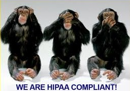 Monkeys demonstrate HIPAA compliance