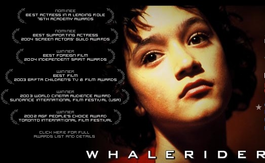 Whale Rider the movie