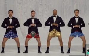 Joe Boxer xmas commercial