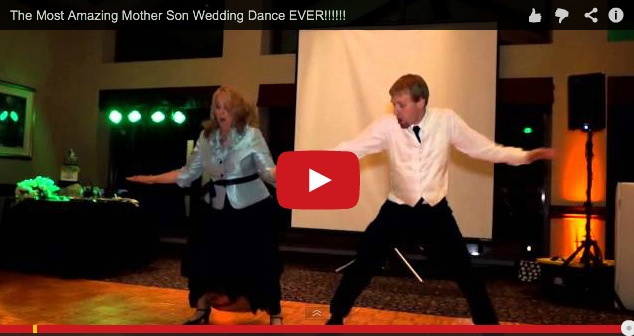 Mother-son wedding dance that\'ll blow your socks off – kimi\'s blog