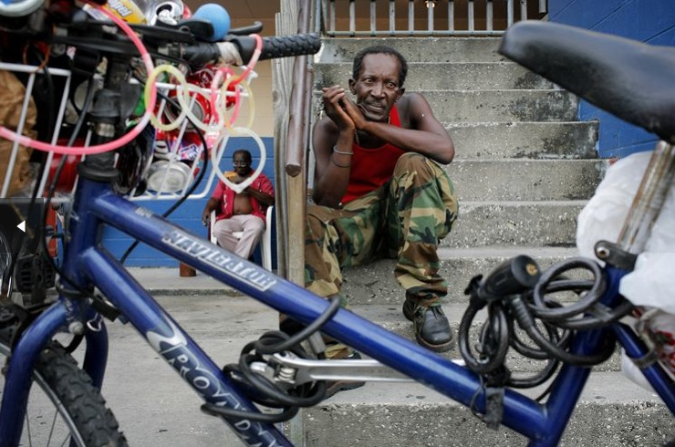 Liberian needs a bike lock