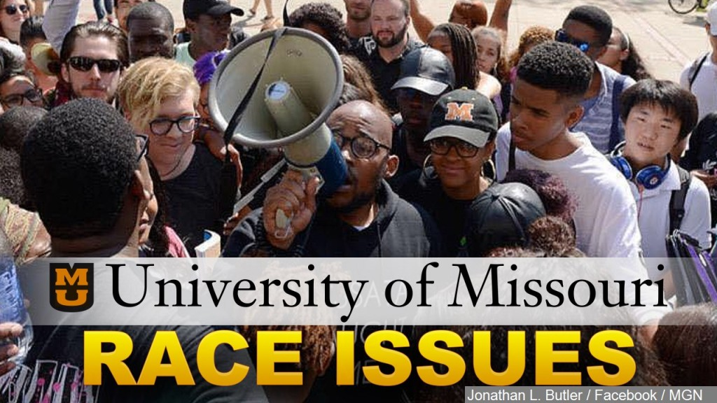 U Missouri Race Issues