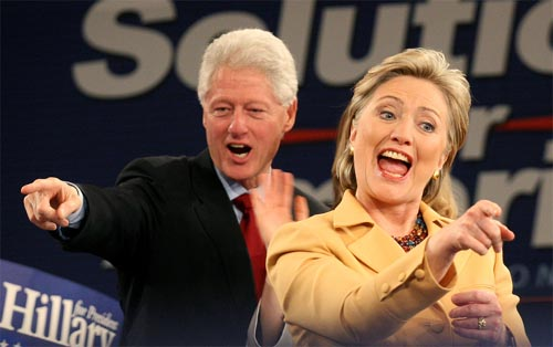 Bill & Hillary Clinton