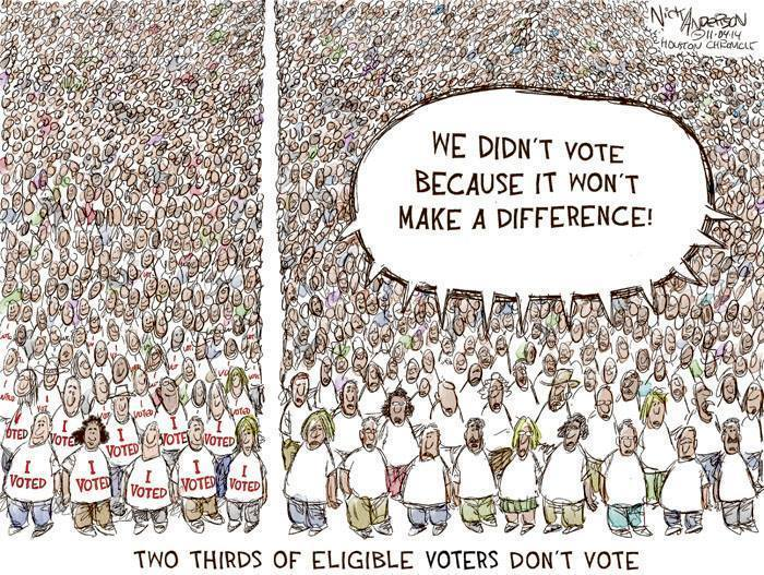 graphic: two thirds don't vote