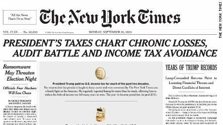 NY Times cover