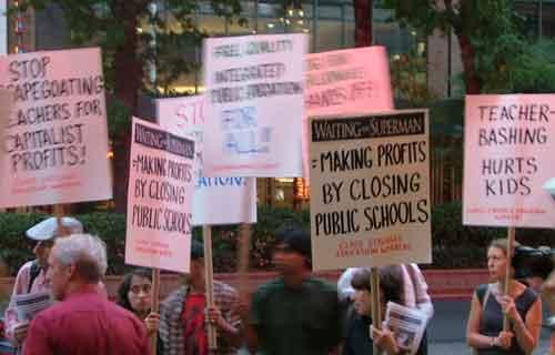 profiting by closing schools