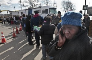 sandy relief denied to African Americans
