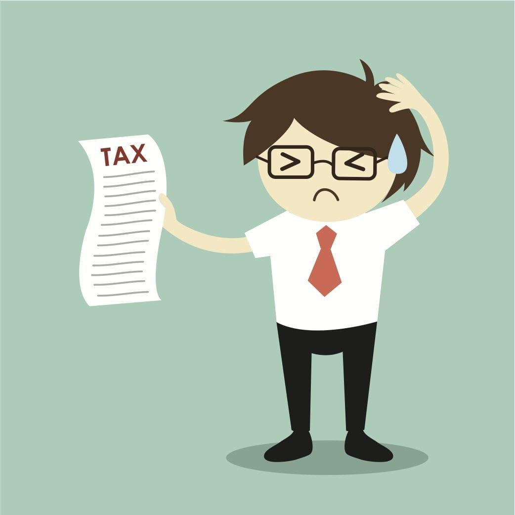 Taxes are a headache